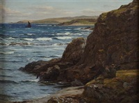 in a rocky cove by john james bannatyne