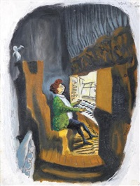 la pianiste by blutch
