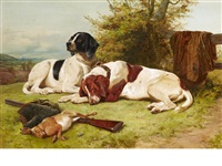 pointers at rest by john charles dollman
