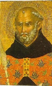 s.benedetto by paolo veneziano