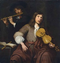 les musiciens by jacob oost the elder