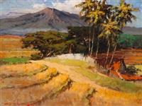 javanese landscape by gerard adolfs