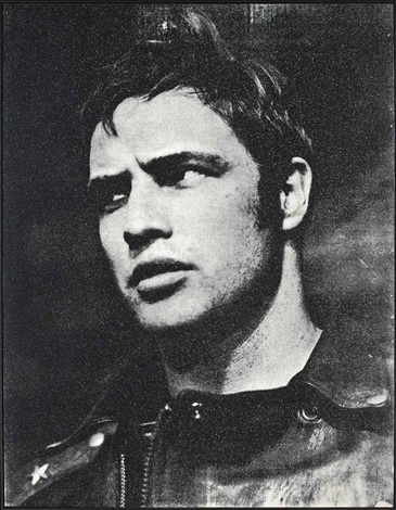 marlon brando by russell young