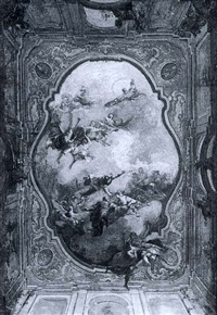 a study for a ceiling by caspar franz sambach