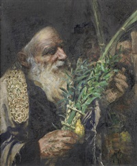 examining the lulav by leopold pilichowski