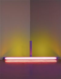 untitled (to frank stella) by dan flavin