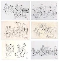 ink series (6 works) by momon