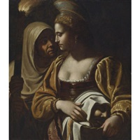 judith with the head of holofernes by antiveduto grammatica