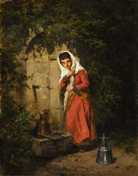 at the well by konstantin nikolaevich filippov