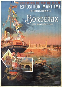 exposition maritime internationale bordeaux by antoine ponchin