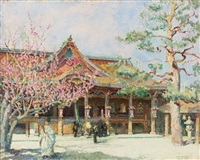 the kitano shinto shrine, kyoto by samuel mützner