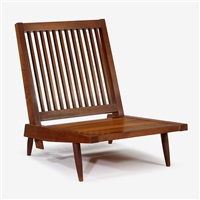 cushion lounge chair by george nakashima
