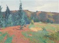 On the Brow of Laudamus Hill, 1897