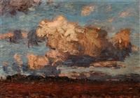 herbstwolken über dem heller by otto altenkirch