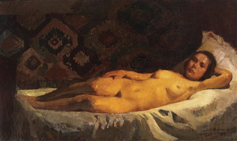 Nud La Lumina Lampii By Ipolit Strambulescu Strambu
