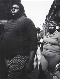 couple, lower east side, nyc by leon levinstein