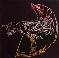 martha graham: letter to the world (the kick) (1986) by andy warhol