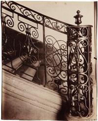 hôtel de jumilhac, 12 rue de l'abbé grégoire by eugène atget