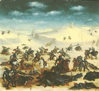 the battle of leckerbeetje by balthasar courtois