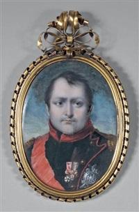 portrait de l'empereur napoléon 1er by jean désiré muneret
