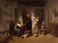 musikstunde by august von rentzell