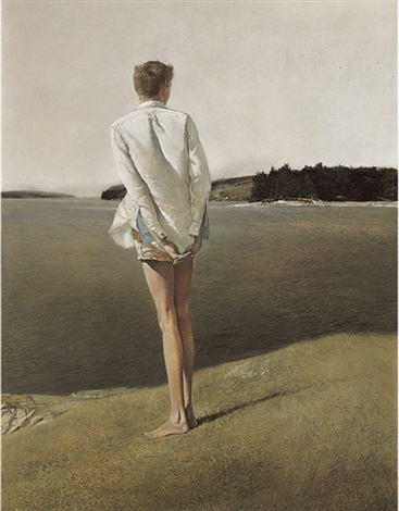 above the narrows by andrew wyeth