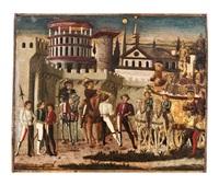 scena di trionfo all'antica by giovanni di ser giovanni di (lo scheggia) simone