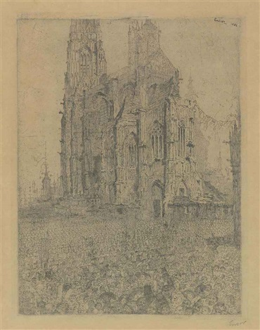 la cathedrale by james ensor