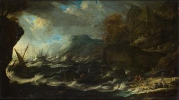 el naufragio by bonaventura peeters the elder