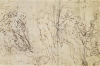 deposizione (study) by ambrogio giovanni figino