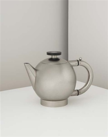 rare and important teapot by naum slutzky