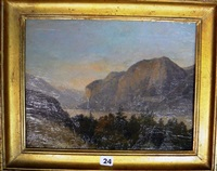vue du tyrol by charles caius renoux