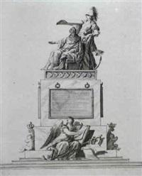 le roi louis xvi sous l'egide de minerve by antoine peyre
