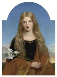 portrait of miss bury by sir charles lock eastlake