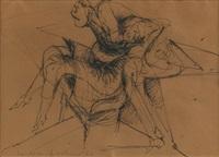 figürliche zeichnung by lothar fischer