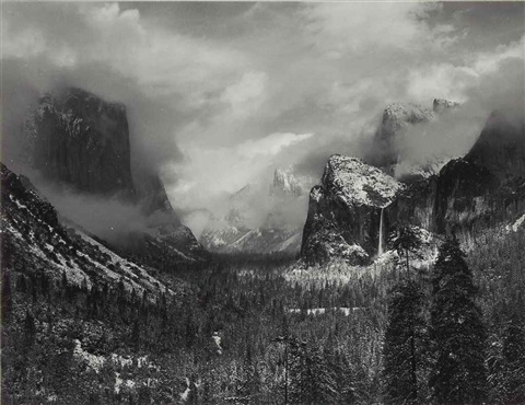 Clearing Winter Storm, Yosemite National Park, c. 1940 by ...Ansel Adams Clearing Winter Storm