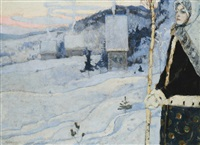winter by mikhail vasilievich nesterov