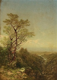 a view to the hudson by john william casilear