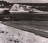 beach scene, queensland by john thomas rigby