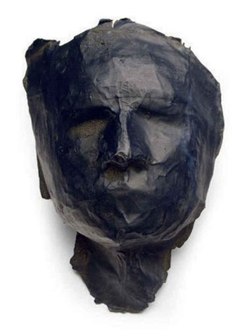 untitled mask by sylvia plimack mangold