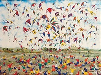 untitled, kites by harry bilson