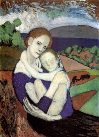 La maternité by Pablo Picasso on artnet