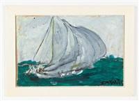 sailboat by justin mccarthy