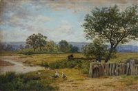 a creek on the ovens (victoria) by james clarke waite