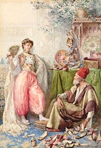 the harem's cobbler by amedeo simonetti