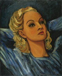 portrait d'une blonde by francis picabia