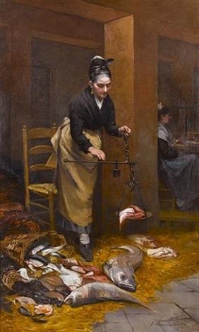 the fish-seller by limosin d' alheim