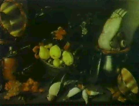 nature morte au chaudron fruits et oiseaux by cornelis jacobsz delff