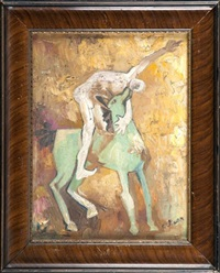 człowiek na koniu by otto axer