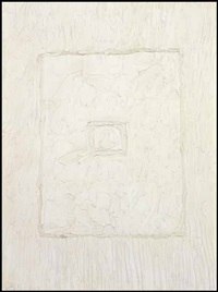 white abstraction no.1 by william paterson ewen